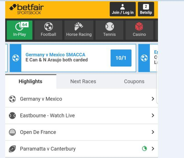 Betfair Launches New Android Apps: Improved Notifications