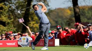 Rory McIlroy at the Ryder Cup