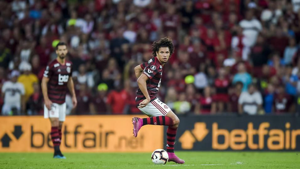 Flamengo's Willian Arao