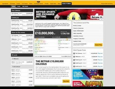 betfair pools