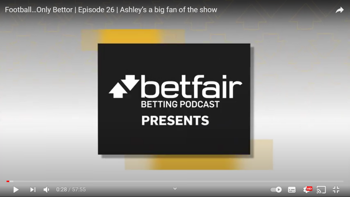 Football...Only Bettor Episode 26: Ashley's a big fan of the show
