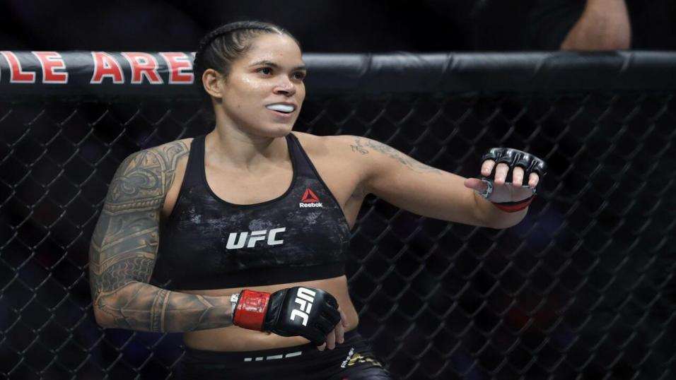 UFC fighter Amanda Nunes