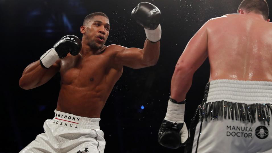 Boxer Anthony Joshua