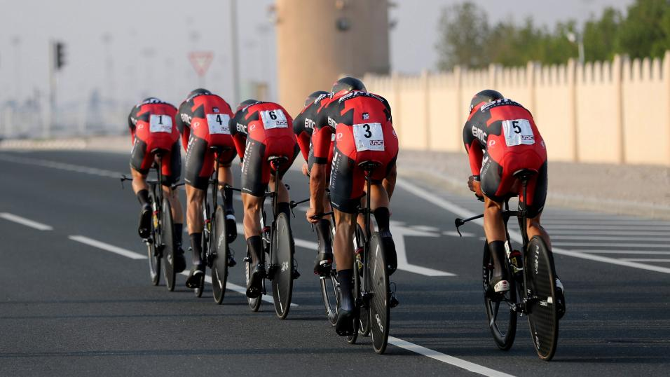 BMC in the Team Time Trial
