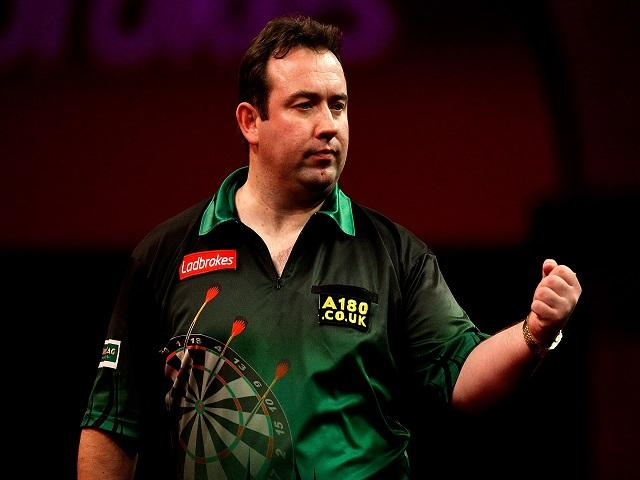 Brendan Dolan is Wayne's tip for Monday at the Grand Prix of Darts