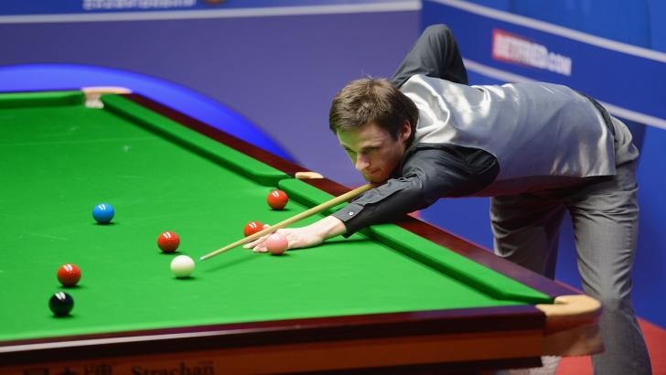 Snooker player David Gilbert