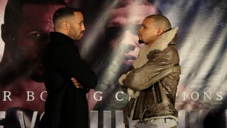 Boxers James DeGale & Chris Eubank Jr