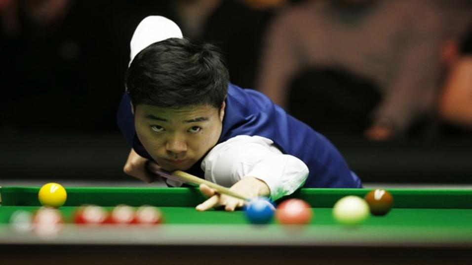 Former UK and Masters snooker champion Ding Junhui