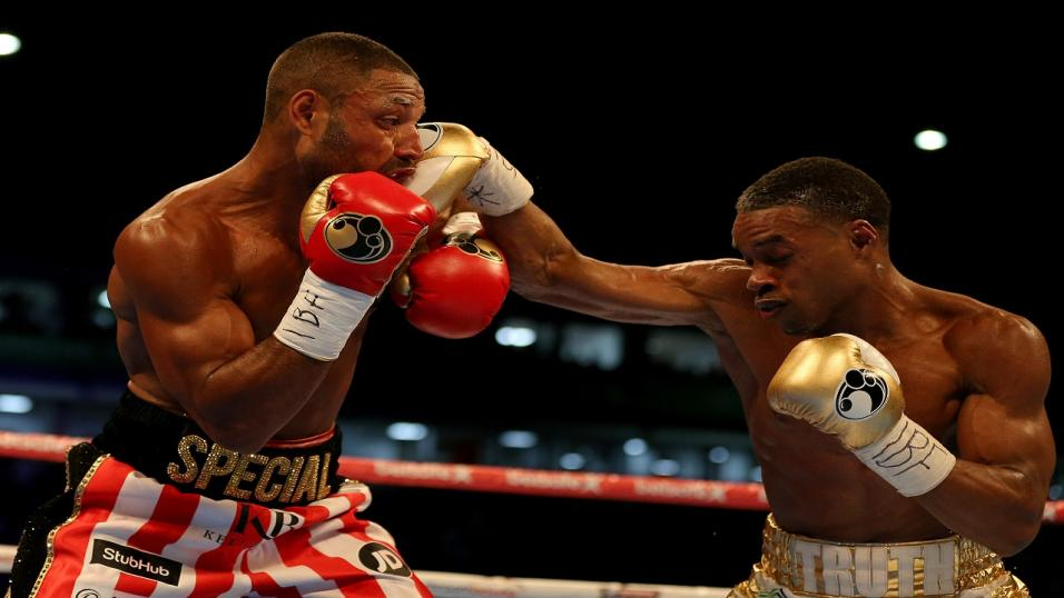 Boxer Kell Brook & Errol Spence