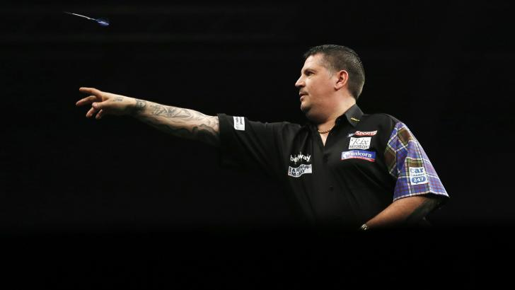 Scottish Darts Player Gary Anderson
