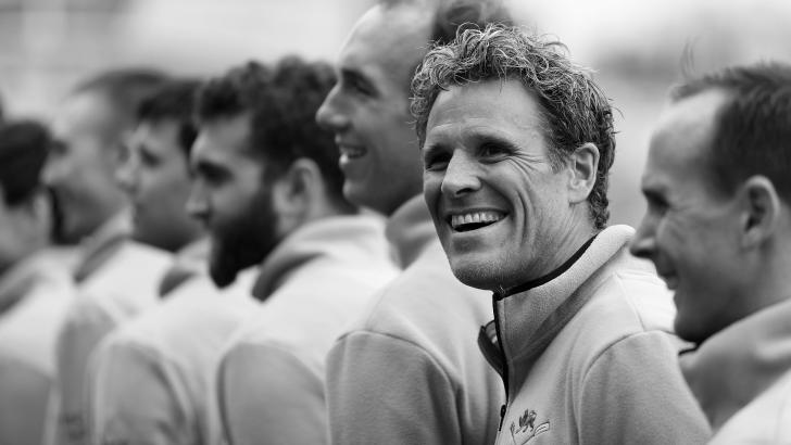 James Cracknell for Cambridge in University Boat Race
