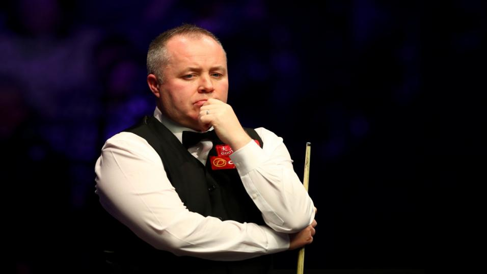 Snooker player John Higgins
