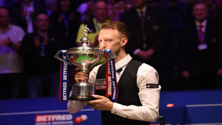 World Snooker Champion Judd Trump