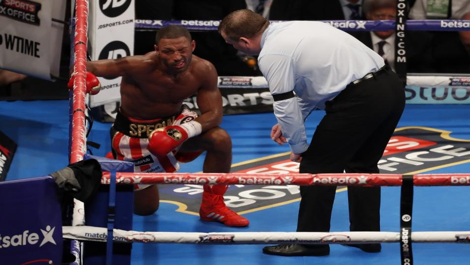 Kell Brook aiming to fire back from an eye injury
