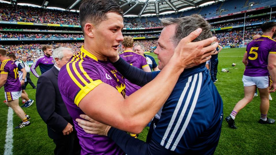 Lee Chin and Davy Fitzgerald