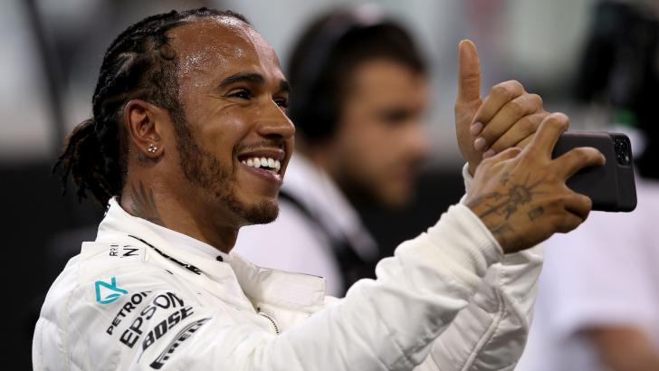 World champion Lewis Hamilton