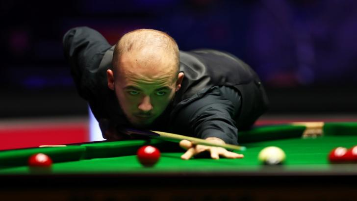 Snooker player Luca Brecel