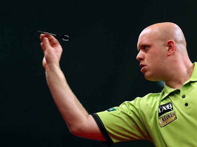 Michael van Gerwen is world number one and brimming with confidence
