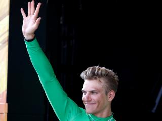 Marcel Kittel saluting the crowd is becoming a common sight