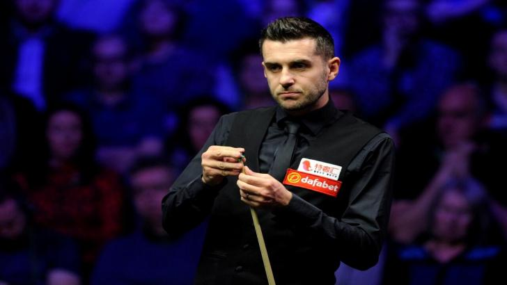 Three-times world champion Mark Selby