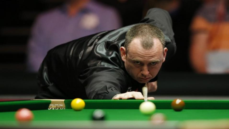 Mark Williams look set for a big run at this title