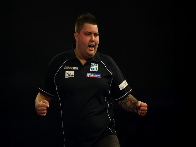 Wayne is backing Michael Smith (above) to triumph on Friday