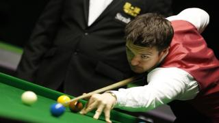English snooker star Michael Holt