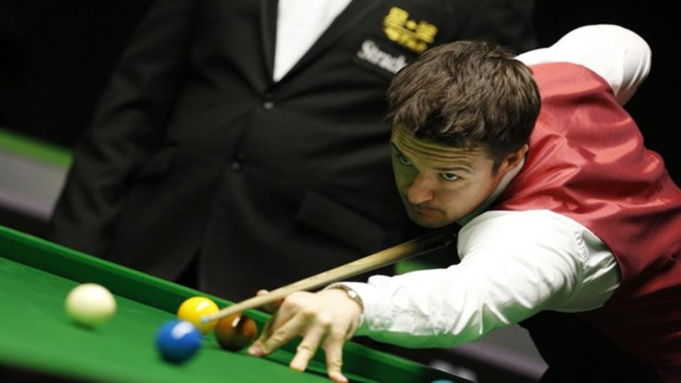 Snooker player Michael Holt