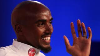 London Marathon hopeful Mo Farah