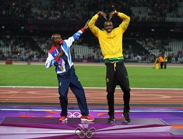 Usain Bolt will only compete in the 4x100 relay but Mo is going for the double