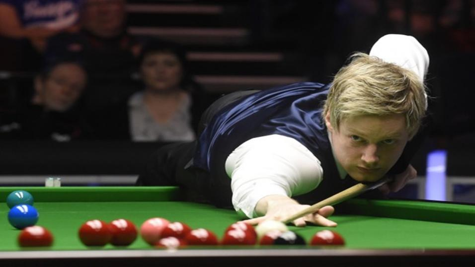 Neil Robertson is well on the way back to his best