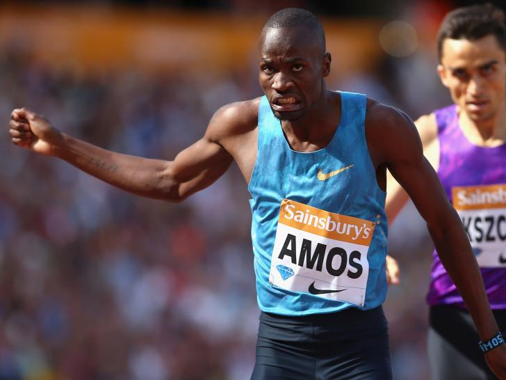 Might 800m-specialist Nijel Amos be drafted in to bolster the Botswana 4x400m relay team?