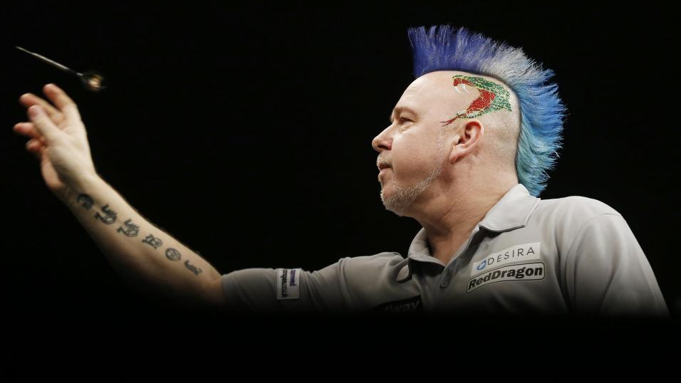 Darts world champion Peter Wright.