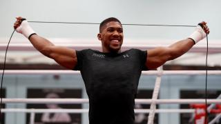 British world heavyweight champion Anthony Joshua