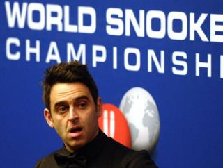 Ronnie will take the world of beating at the Crucible