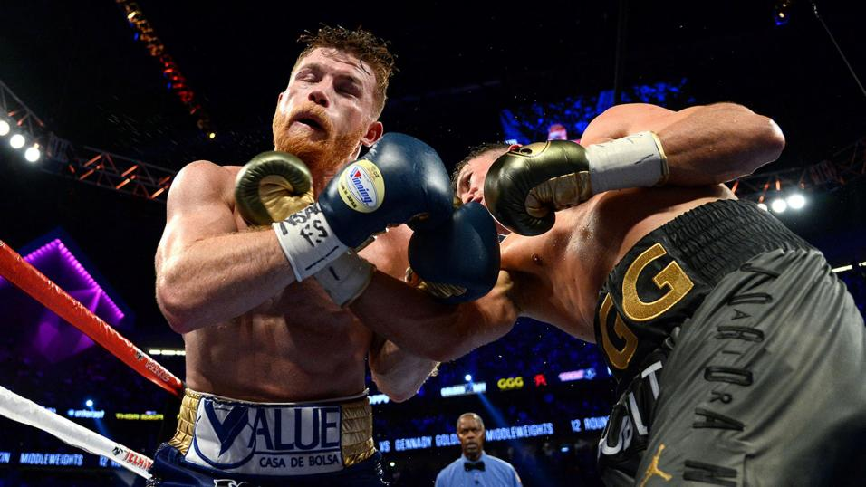 Golovkin Alvarez fight
