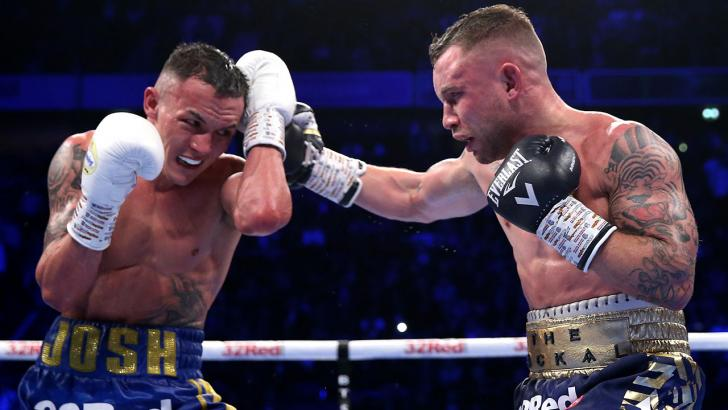 Boxer Josh Warrington