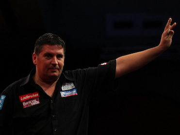 Gary Anderson is in great form at the moment