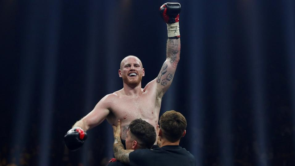 Boxer George Groves