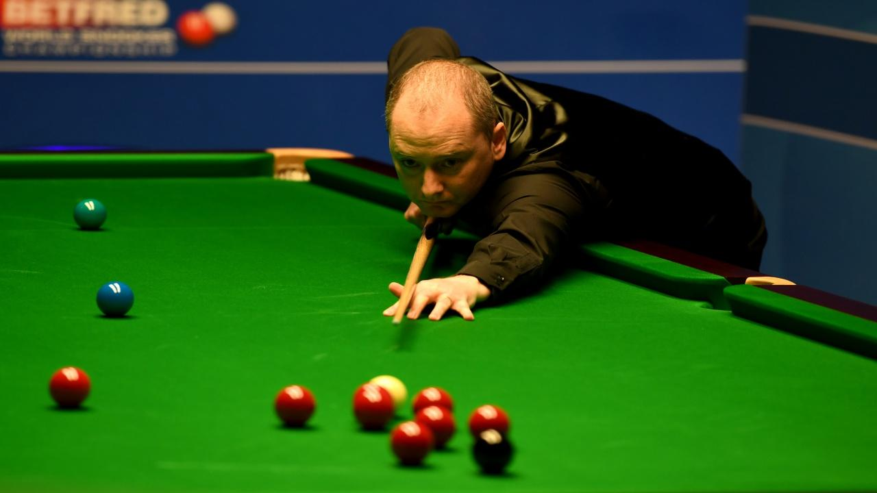 Snooker player Graeme Dott