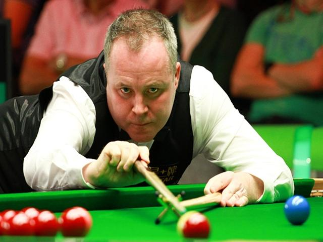 John Higgins was in fine fettle in the first round