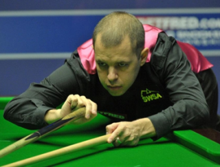 Barry Hawkins faces a stern first round examination