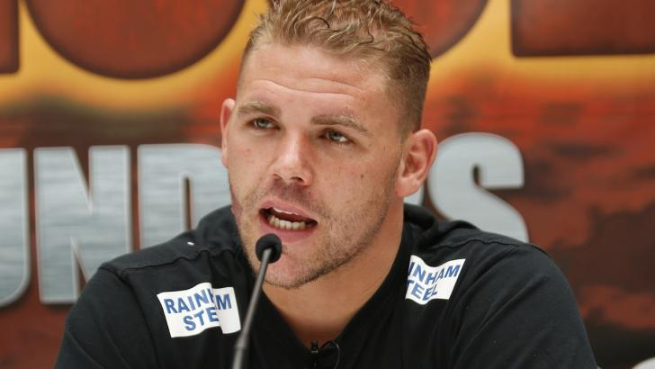 Boxer Billy Joe Saunders