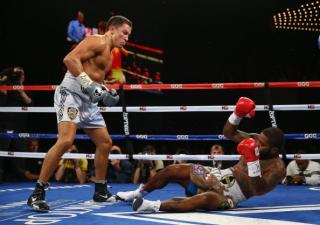 Gennady Golovkin has knock out power.