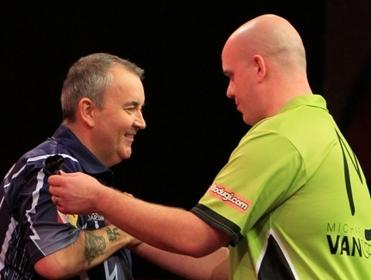 Wayne fancies Van Gerwen to edge out Taylor this time