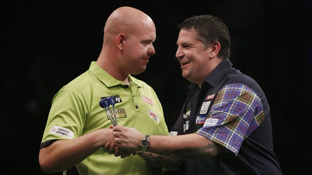 Michael van Gerwen and Gary Anderson - Premier League Darts