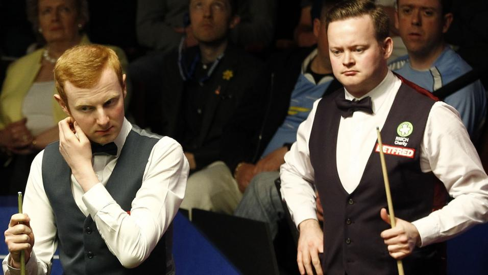 Anthony McGill and Shaun Murphy