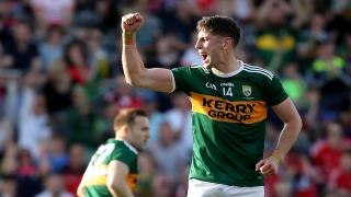 Kerry forward Paul Geaney