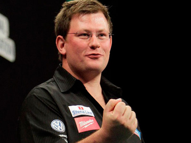 James Wade looks set for a tough match against Michael 'Bully Boy' Smith