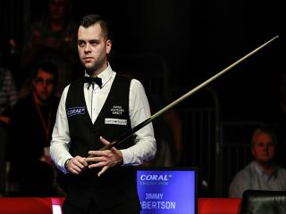 Jimmy Robertson is a worthy favourite to progress to the last 16